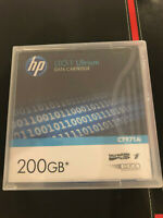 HP LTO1 ultrium data cartridge, 200 Go, modèle C7971A