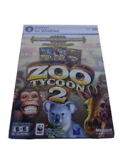 Microsoft Zoo Tycoon 2: Zookeeper Collection - PC-CD - New/Sealed Retail Box
