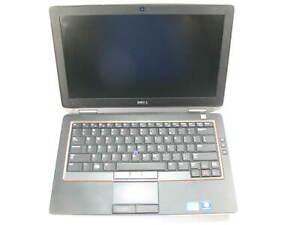 "Dell E6320 13.3"" Laptop 2.6 GHz i5-2540M 4GB RAM (Grade B No Battery, Caddy)"