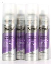 4 Ct Suave Professionals 5 Oz Between Washes Volume Plus Fullness Dry Shampoo
