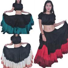Fusión Gótico Danza del vientre falda de algodón de 25 yardas por Wevez