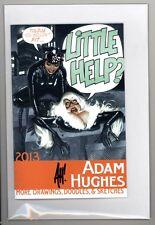 "Adam Hughes ""Little Help?"" 2013 Sketchbook   Signed by Adam Hughes   NM/Mint"