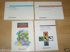 Vauxhall Astra G Owners Manual Handbook Set 1998 - 2004 FREE UK POSTAGE
