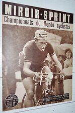 MIROIR SPRINT N°428 23/08 1954 LOUISON BOBET CHAMPION DU MONDE ARC-EN-CIEL