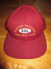Vintage BOSTON COLLEGE EAGLES XXL ATHLETIC DEPARTMENT (Adjustable Snap Back) Cap