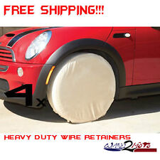4 Four Tire Rim Wheel Trailer Covers Motor Home Toy Hauler Race Horse Car Travel