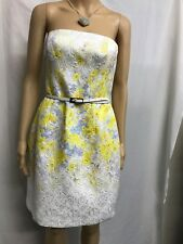 ebd7eee82a6 FOREVER NEW SIZE 12 GORGEOUS STRAPLESS FLORAL SPECIAL OCCASION DRESS