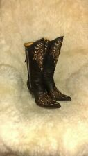Old gringo Razz embroidered dark brown womens 11 boots  cute 💓