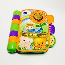 VTEC Kids Electronic Story Time Rhymes Musical Book With Two Story's