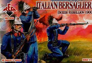 Red Box 1/72 Italian Bersaglieri Boxer Rebellion 1900 # 72030