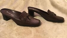 Etienne Aigner Shoes Women's 7M Brown Slip-ons