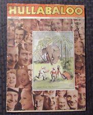 1931 Dec. HULLABALOO Magazine v.1 #1 GD- Mary Pickford