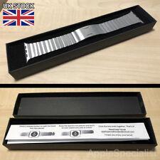 Genuine Apple Watch Band - 42MM / 44MM Link Bracelet - Silver - New - Steel