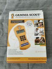 Gamma Scout rechargeable Geiger counter / Geigerzähler
