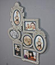 BILDERRAHMEN Collage grau antik Holz Fotogalerie Rahmen Galerie Fotorahmen used