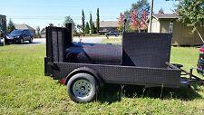 Start a BBQ Restaurant Catering Business Smoker 48 Grill Trailer Food Cart Truck