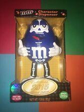 Blue M&M Halloween 2015 Character Dispenser (Skeleton Costume).
