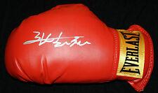 Zhang Zhilei signed boxing glove, Olympics, China, Exact Proof, COA