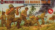 Airfix 1:32 54mm Military Figures US Marines 1941-45 Plastic Kit #03583-9U