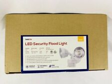 LEONLITE 2 Head LED Outdoor Security Floodlight Motion Sensor 3 Lighting Modes