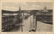 Montpelier VT 1927 Flood Damage VINTAGE EXC COND Postcard #2