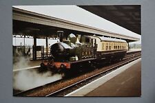 R&L Modern Postcard: Didcot Railway Autotrain Collett/Hawksworth Trailer