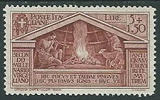 1930 REGNO VIRGILIO 5 LIRE LUSSO MH * - Y063-2