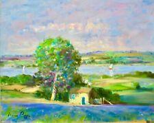 AskArt Listed Artist Nino Pippa Orig Painting In Van Gogh Footsteps Rhone Valley