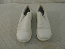 Women's Nurse Mates All Day Comfort Dove White Leather Upper 8.5 M Work Shoes