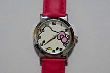 Wholesale HOT Pink Fashion Wrist Quartz Watch Wristwatch For Hello Kitty