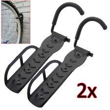 2X acier vélo rangement mural Mont Crochet rack Titulaire Hanger stand Dcuk