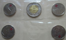 Pack of 2012 Canada Shahnon Toonie and War Quarters Coin. UNC. MINT CELLO