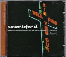 SANCTIFIED compilation CD Ltd Ed Blue Note Art Blakey Horace Silver Grant Green