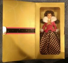 NEW Avon Exclusive Winter Rhapsody Barbie Doll 16873 Brunette NRFB