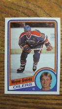 Lot of 5 HIGH GRADE 1984-85 Topps Hockey WAYNE GRETZKY Cards NrMT/MINT or better