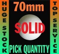 70mm Solid Polystyrene Styrofoam Craft Balls - top quality and fast delivery