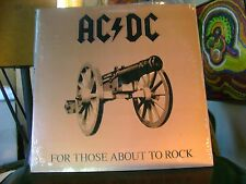 STILL SEALED METAL ROCK Promo ? LP~AC DC~FOR THOSE WHO ARE ABOUT ROCK~ATL~HEAR