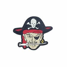 Eye Patch Pirate (Iron On) Embroidery Applique Patch Sew Iron Badge