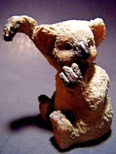 "Koala Bear Sculpture Sitting Hang Resin Figure Ornament Paperweight Decor 3"" New"