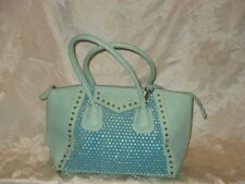 Mint Green Rhinestone Bling David Jones Handbag