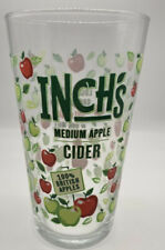 More details for 2 x rare brand new inch's rolling apple cider m21 pint glas bar gift mancave
