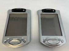 Lot 2 Compaq IPAQ Pocket PC H3850 Electronic Handheld Personal Organizer Windows