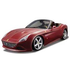 Modellini statici di auto, furgoni e camion bianchi per Ferrari, scala 1:24