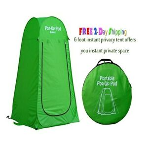 Outdoor Portable Pop-up Shower Tent Camping, Privacy Changing Room, Beach Toilet