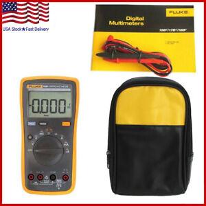 FLUKE 15B+ F15B+ Auto Range Digital Probe Multimeter Meter + Soft Storage Case