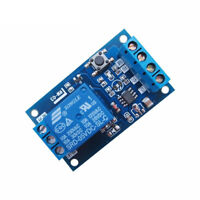 2pcs 5V Bond Bistable Relay Module Modified Car Start/Stop Self-Locking Switch
