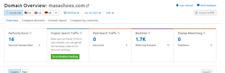 Domain premium MASASHOES.COM   Aged 1.7k links DA ranking