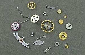 Genuine ROLEX watch movement parts for caliber 3135. Sold separately.