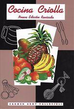 Cocina criolla - Carmen Aboy Valldejuli (Hardcover) (Español)