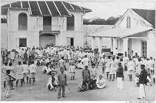 1897 British Empire Singapore Prison Prisoners Guards 7x5 Inch Reprint Photo H